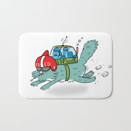 Speed Fred! (Special Edition) Bath Mat