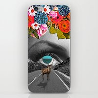 trip iPhone & iPod Skins featuring Trip by Pame Pinto Rojas