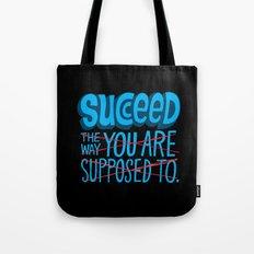 Succeed.  Tote Bag