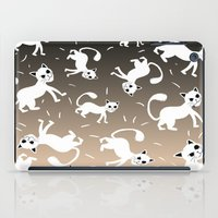 kittens iPad Cases featuring kittens by Seefirefly