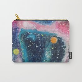 Pink and blue galaxy Carry-All Pouch