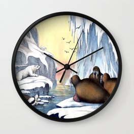 Polar Convention Wall Clock