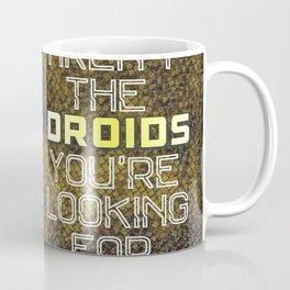 C3P0 R2D2 Coffee Mug