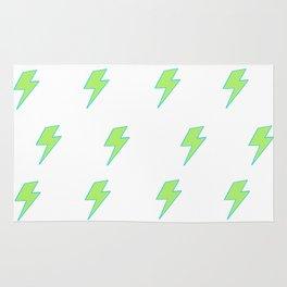 Bolt- Lime Green Rug