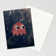 Pac-Man Pink Ghost Stationery Cards