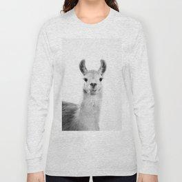 Happy Llama Long Sleeve T-shirt