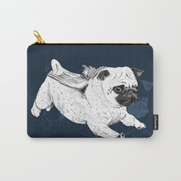 Flying Pug Carry-All Pouch