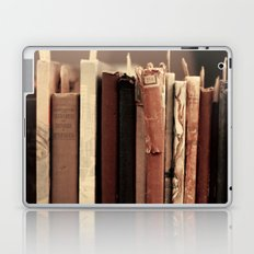 Old Books (brown) Laptop & iPad Skin