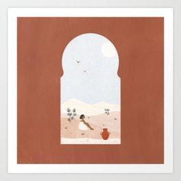 window view Art Print