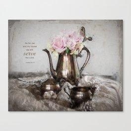 Antique Tea Pot* Canvas Print