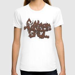 Walnut Stamp Graffiti  T-shirt
