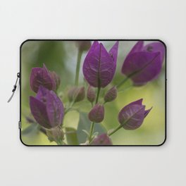 Purple Bougainvillea Laptop Sleeve