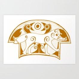 The Sienna Norse Fox Art Print