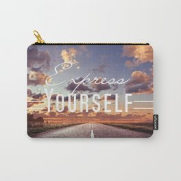 Express Yourself Carry-All Pouch