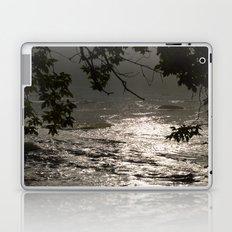 In A Misty Rain Laptop & iPad Skin