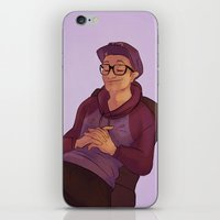niall iPhone & iPod Skins featuring Glasses Niall by Skaikat