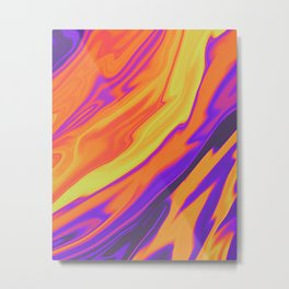Fire Opal Metal Print