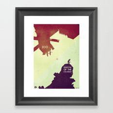 Shadow of the Colossus & Ico Framed Art Print