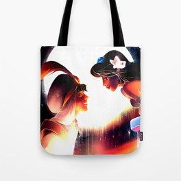 jasmine and aladdin Tote Bag