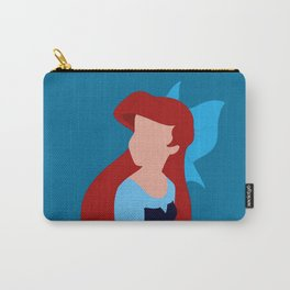 Ariel - Blue Carry-All Pouch