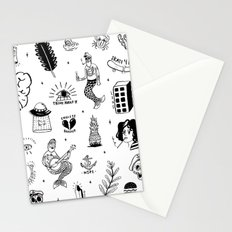 Flash Tattoos Stationery Cards