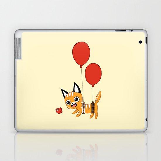 Balloon Cat Laptop & iPad Skin