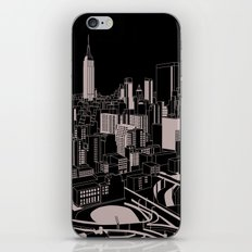 New York Black and White iPhone & iPod Skin