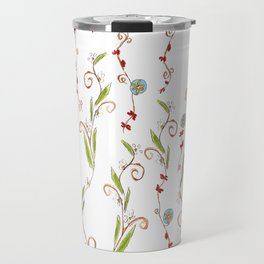 Flower vines Travel Mug