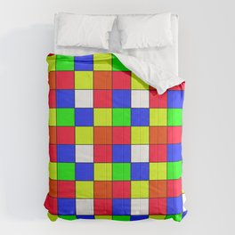 cubo rubik Comforters
