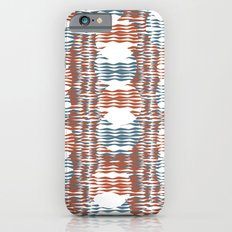 Waves and Circles iPhone 6s Slim Case