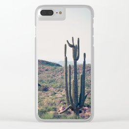 The Desert Sage Clear iPhone Case