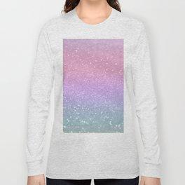Unicorn Princess Glitter #1 (Photography) #pastel #decor #art #society6 Long Sleeve T-shirt