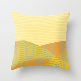 California Hills (Horizontal) Throw Pillow