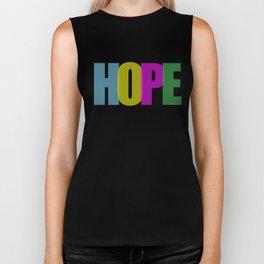 Hope (Color) Biker Tank