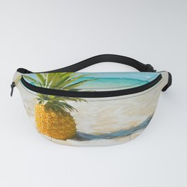 Pineapple Beach Fanny Pack