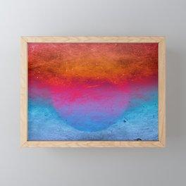 Fireball Framed Mini Art Print