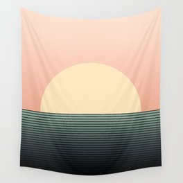 Sunrise / Sunset Abstract Gradient IV Wall Tapestry