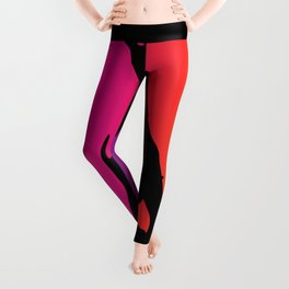 Entertainer With Audience Leggings