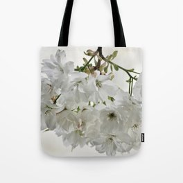 SPRING BLOSSOMS - IN WHITE - IN MEMORY OF MACKENZIE Tote Bag