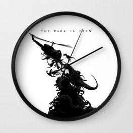 World Park Z Wall Clock