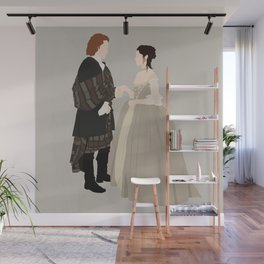 Outlander, Jamie and Claire Wall Mural