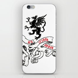 an irishman iPhone Skin