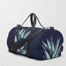 Navy Blue Pineapple Dream #1 #tropical #fruit #decor #art #society6 Duffle Bag