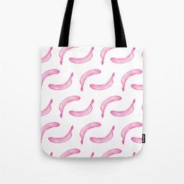 pink bananas pattern Tote Bag
