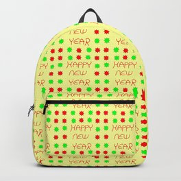 happy new year 5 Backpack