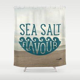 SEA SALT FLAVOUR Shower Curtain