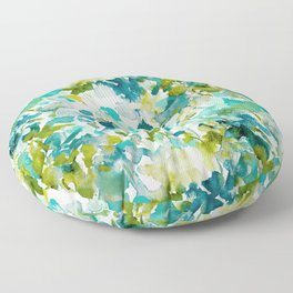 Local Color (Teal) Floor Pillow