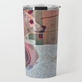 I Think Having A Dog In Your Life Makes You A Better Human Travel Mug