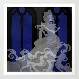 The Grey Lady Art Print