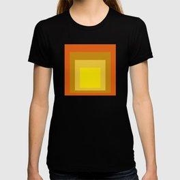 Block Colors - Yellow Gold Orange T-shirt